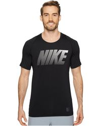 Nike - Pro Fitted Short Sleeve Training Top - Lyst