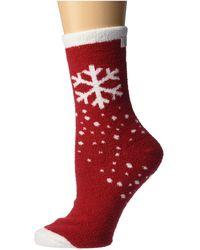 Karen Neuburger Winter Novelty Socks - Red