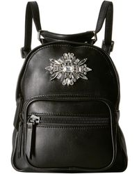 Badgley Mischka - Grove Nappa Mini Backpack (black) Backpack Bags - Lyst