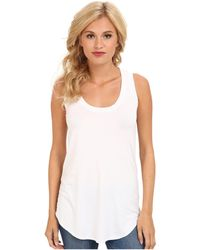 Three Dots - Lightweight Viscose Long Tank - Lyst