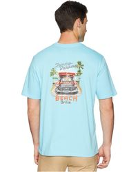 Tommy Bahama - Beach Grille T-shirt (bowtie Blue) Men's Clothing - Lyst