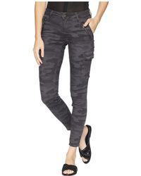 Mavi Jeans - Juliette Skinny Cargo In Smoke Camo (smoke Camo) Women's Casual Pants - Lyst