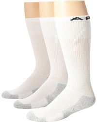Ariat - Over The Calf Sport Sock 3-pack (white) Men's Knee High Socks Shoes - Lyst