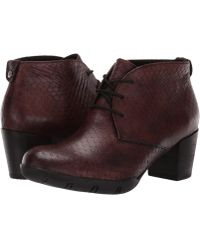 Wolky - Bighorn (cognac) Women's Dress Lace-up Boots - Lyst