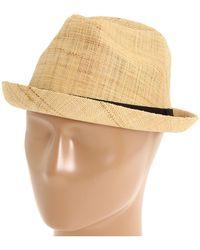 San Diego Hat Company - Rhf602 (natural) Fedora Hats - Lyst