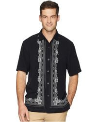 Tommy Bahama - Cambio Tiles Camp Shirt (black) Men's Clothing - Lyst