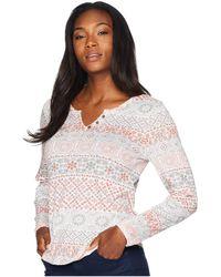 Aventura Clothing - Austen Long Sleeve Shirt (grey Ice) Women's Long Sleeve Pullover - Lyst
