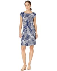 4e4c07f74df Tommy Bahama - Lava Cove Short Sleeve Dress (island Navy) Women s Dress -  Lyst. Tommy Bahama - Lava Actually T-shirt ...