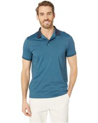 Perry Ellis - Essential End On End Polo - Lyst