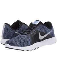 1347c34468c Nike - Flex Tr 8 Premium (black metallic Silver royal Pulse) Women s