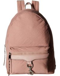 Rebecca Minkoff - Tech To Go Mab Backpack (vintage Pink 1) Backpack Bags - Lyst