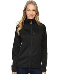 Fjallraven - Abisko Trail Fleece (black) Women's Fleece - Lyst