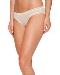 On Gossamer - Cotton Mesh Bikini G1130 (blush) Women's Underwear - Lyst