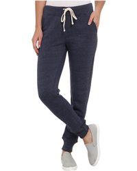 Alternative Apparel - Eco Fleece Jogger Pant (eco Black) Women's Casual Pants - Lyst