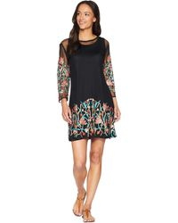 Scully - Sandrah Two-piece Embroidered Mesh Dress (black) Women's Dress - Lyst