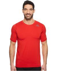 adidas - Alphaskin Sport Fitted Short Sleeve Tee - Lyst