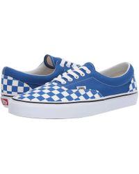 01d3077fda Lyst - Vans Eratm ((bmx Checkerboard) True Blue yellow) Skate Shoes ...