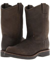 Chippewa - 10 Apache Pull On (chocolate Appache) Men's Work Boots - Lyst
