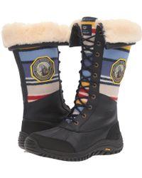 UGG - Adirondack Tall Np Yosemite (navy) Women's Shoes - Lyst