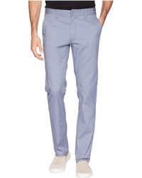 Brixton - Reserved Standard Fit Chino Pants (grey Blue) Men's Casual Pants - Lyst