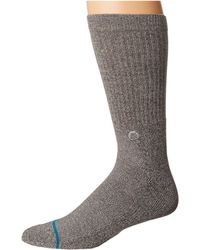 Stance - Icon (pastel Pink) Men's Crew Cut Socks Shoes - Lyst