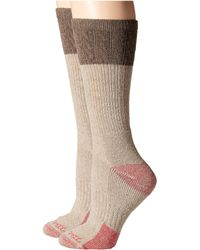 Carhartt - Merino Wool Blend Textured Crew Socks 2-pair Pack - Lyst
