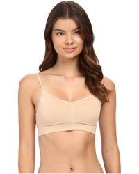 fb0d6ceed0c Lyst - Jockey Natural Beauty Molded Cup Bralette With Back Closure ...