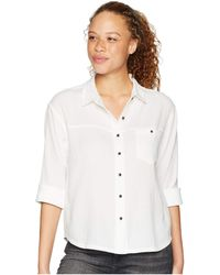 Prana - Fillary Top (white) Women's Long Sleeve Button Up - Lyst