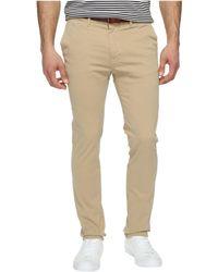 Scotch & Soda - Slim Fit Chino Pants (military) Men's Casual Pants - Lyst