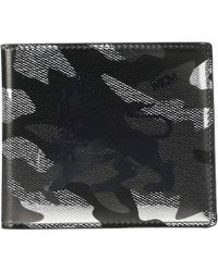 989ada99138 MCM - Munich Lion Camo Flap Wallet two-fold Small (munichi Gold)