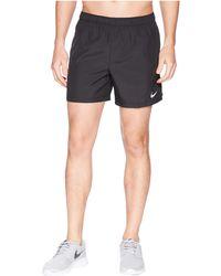 Nike - Challenger 5 Running Short (black/black/black) Men's Shorts - Lyst