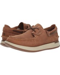 Sperry Top-Sider - Caspian Boat Leather (cocoa) Men's Slip On Shoes - Lyst