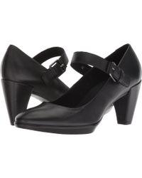 Ecco - Shape 55 Plateau Mj (black Cow Nubuck) Women's Shoes - Lyst