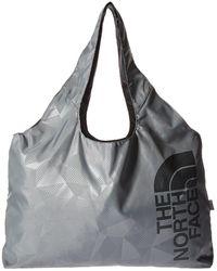 The North Face - On The Run Bag (tnf Black/zinc Grey) Tote Handbags - Lyst