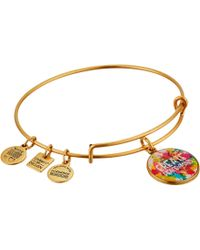 ALEX AND ANI | Peace Of Mind Charm Bangle | Lyst