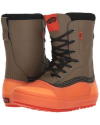 792619afb0 Vans - Standardtm Snow Boot  18 (black grey (pat Moore))