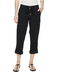 Lauren by Ralph Lauren - Featherweight Twill Cargo Pants (polo Black) Women's Casual Pants - Lyst