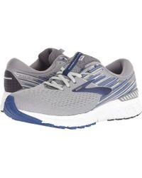 Brooks - Adrenaline Gts 19 (black/blue/nightlife) Men's Running Shoes - Lyst