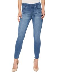 Liverpool Jeans Company - Zoe Ankle Pull-on Leggings In Silky Soft Denim In Baxter - Lyst
