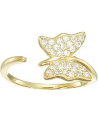 Shashi | Butterfly Ring | Lyst