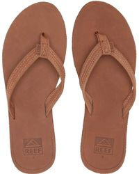 848a69bb1bc Reef - Voyage Lite Leather (saddle) Women s Sandals - Lyst. Reef. Voyage  Lite Leather (saddle) Women s Sandals.  55. Zappos · Sam Edelman - Berit ...