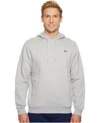 Lacoste - Sport Pullover Hoodie Fleece - Lyst