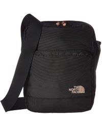The North Face - Woodleaf (tnf Black/burnt Coral Metallic) Bags - Lyst