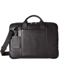 c1fadd1f4a4e Briggs   Riley -  work Leather Medium Brief (black) Briefcase Bags - Lyst