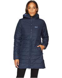 Jack Wolfskin - Maryland Insulated Coat (midnight Blue) Women's Coat - Lyst