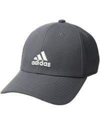 Lyst - Adidas Heathered Snapback Golf Hat in Gray for Men a3ce80d3bba0