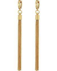 Vince Camuto - Tassel Fringe Earrings (silver) Earring - Lyst