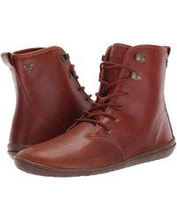 Vivobarefoot - Gobi Hi-top Leather (tobacco) Women's Shoes - Lyst
