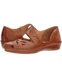 Pikolinos - Puerto Vallarta 655-0518 (brandy) Women's Flat Shoes - Lyst