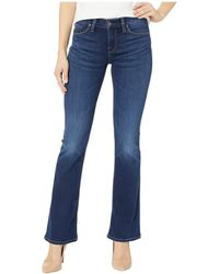 Hudson Jeans - Petite Drew Mid-rise Bootcut In Baltic (baltic) Women's Jeans - Lyst